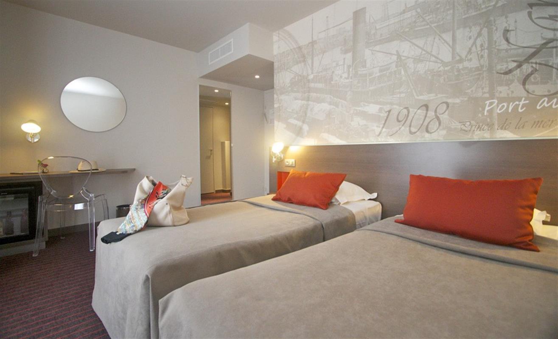 Chambre Familiale - Chambres d\'hôtel à Nantes - Hôtel Amiral   Nantes