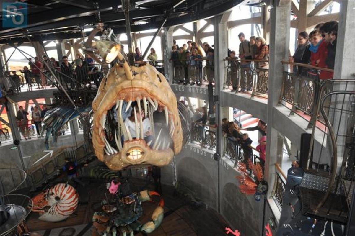 Le carousel des mondes marins nantes actualit s et for Salon de l industrie nantes