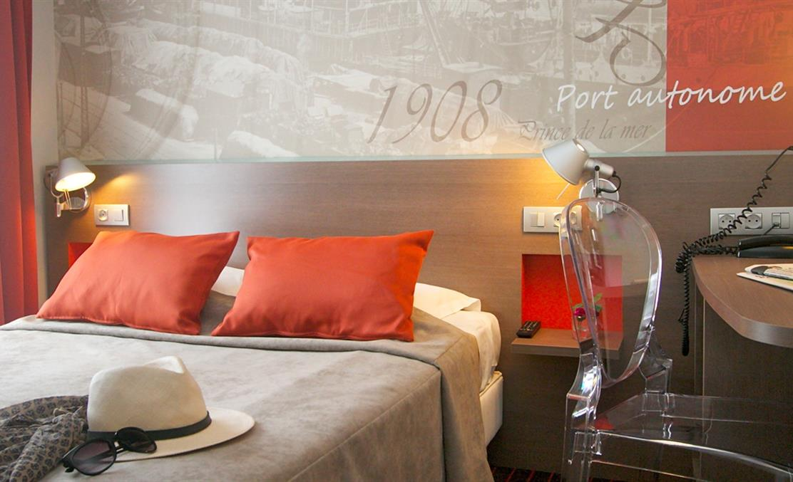 Chambre double - Hotel Amiral Nantes